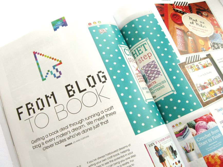 Bugs and fishes by lupin review crafty magazine for How to write a craft book
