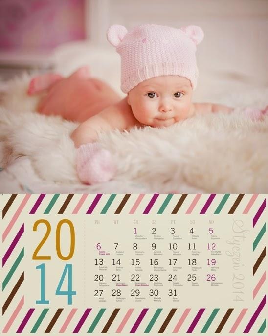 "Projekt fotokalendarza ""Paski"""