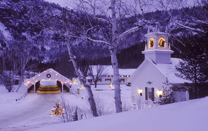 Snowy Xmas Winter Image