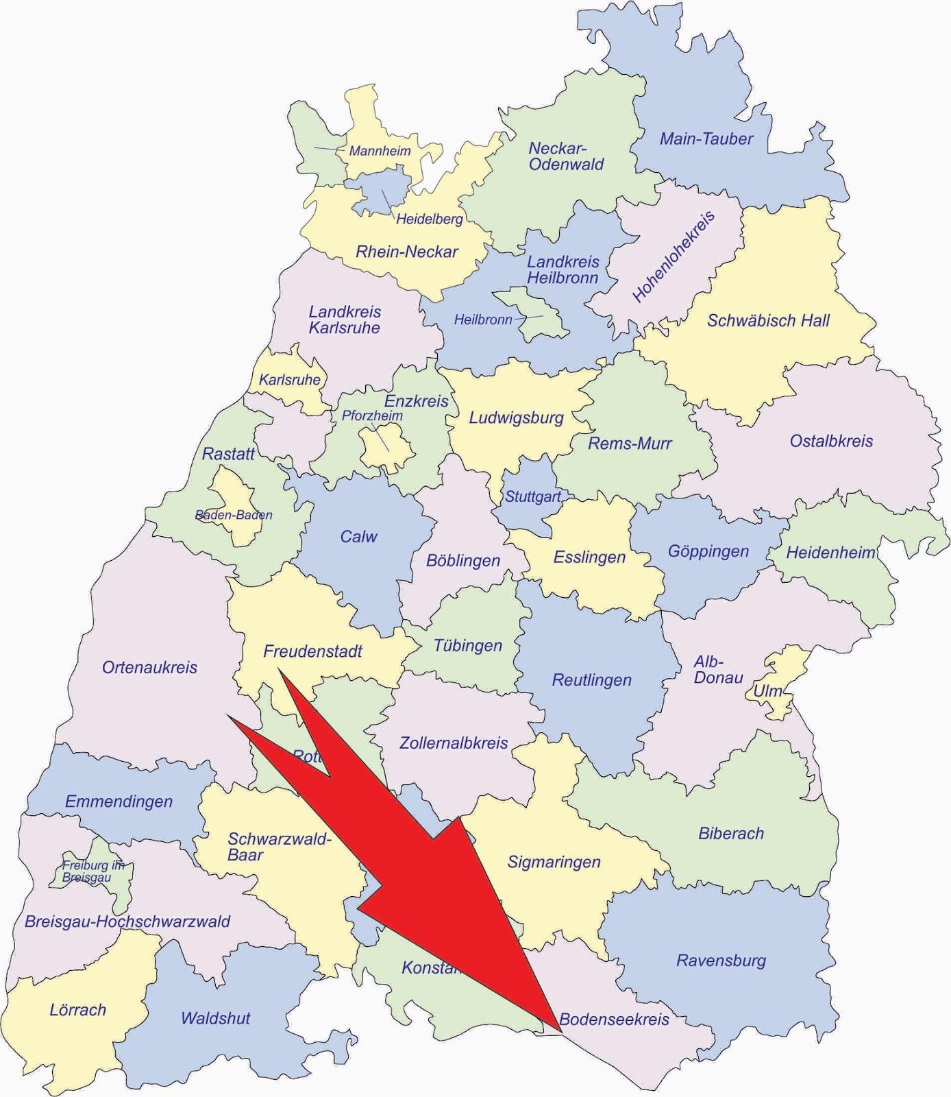 Baden-Württembergs beste Geocaches