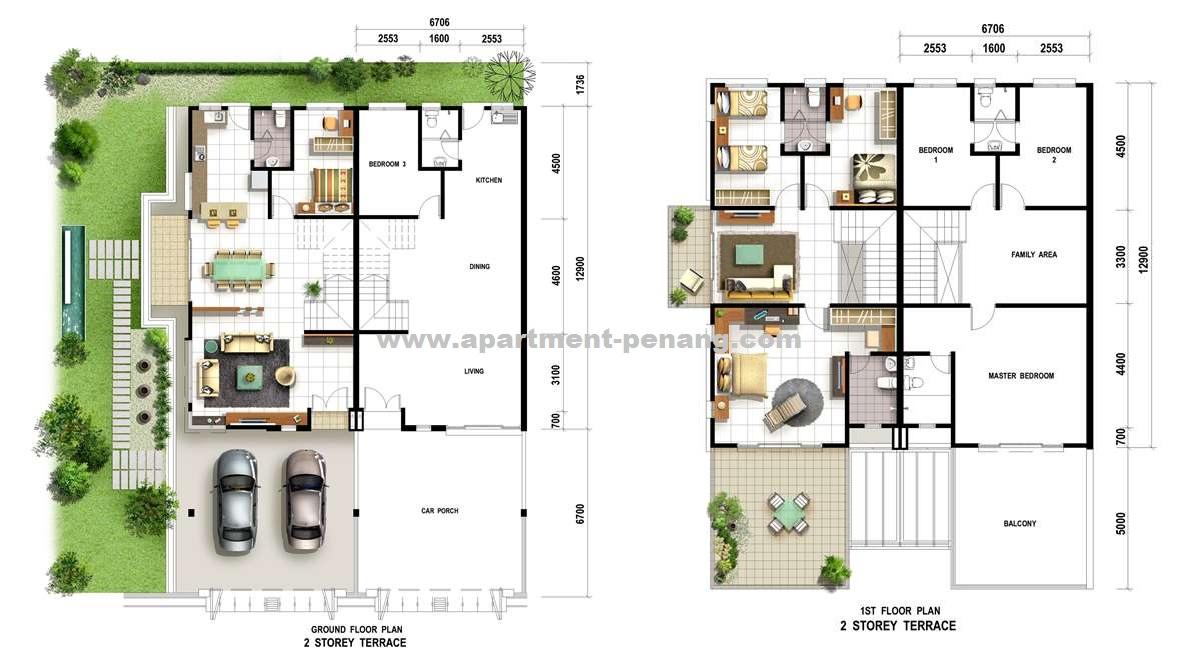 Mutiara residence apartment for Terrace 9 classic penang