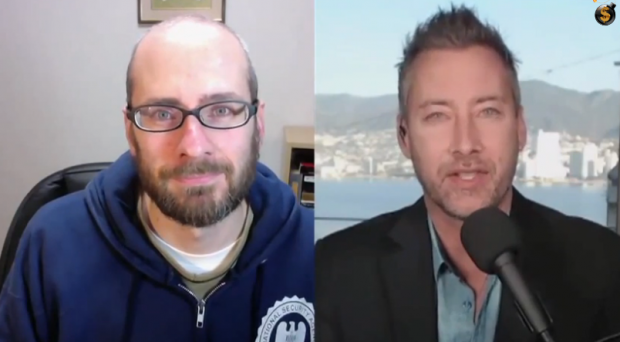 The time the pinhead Jeff Berwick and Chrome Dome James Corbett discussed Bitcoin