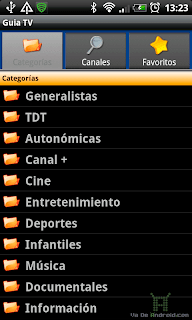 Guia TV Android