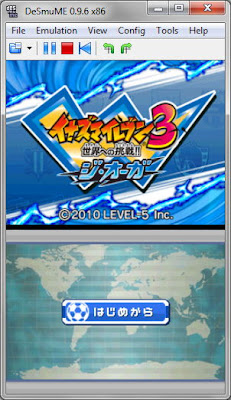 Download [NDS] Inazuma Eleven 3 - Sekai heno Chousen! The Ogre (JAP) Nintendo DS Rom Games