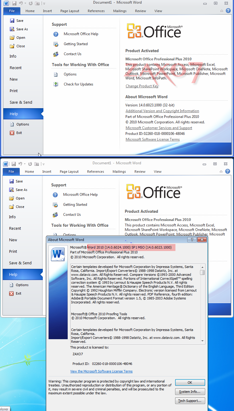 Office 2010 wthe activ tools