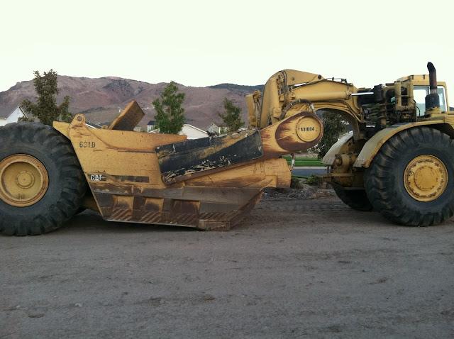Caterpillar 631D Motor Scraper