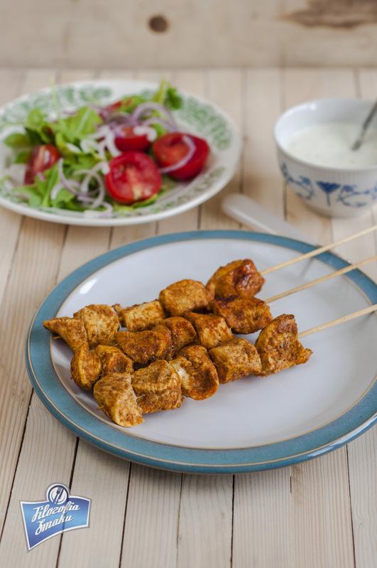 Szaszłyki z kurczaka orientalne