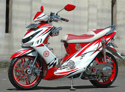 Yamaha Mio J Modification