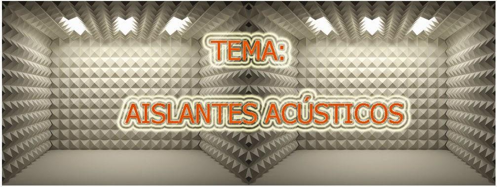 Aislantes acusticos - Materiales aislantes acusticos ...