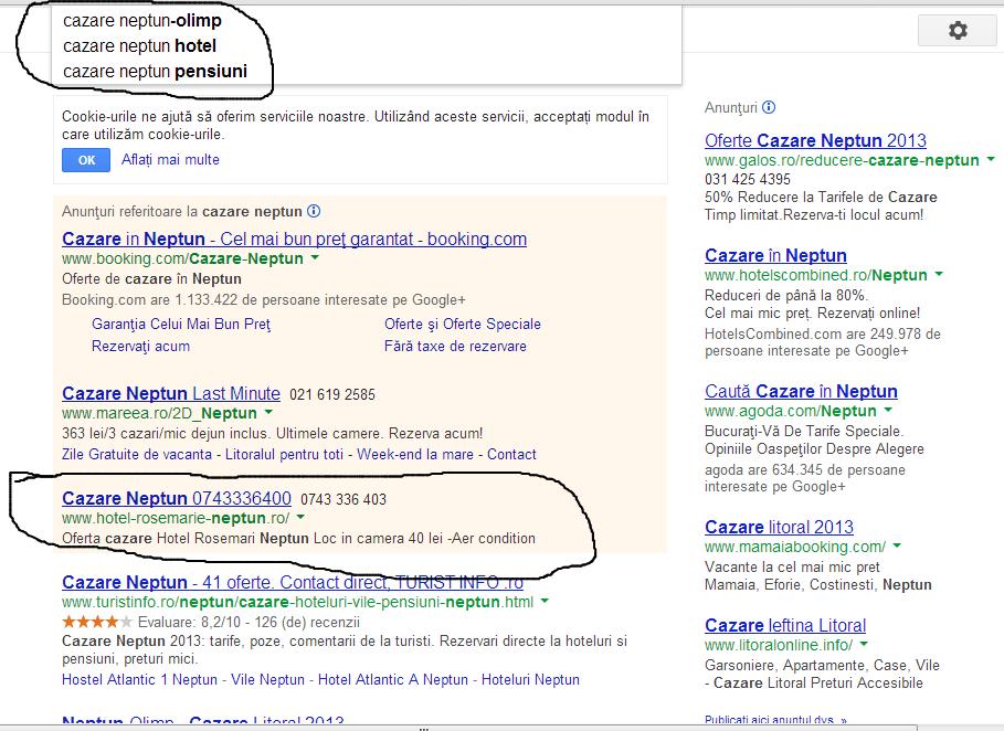 Campanie - promovare -  site - Google - Adwords - pret