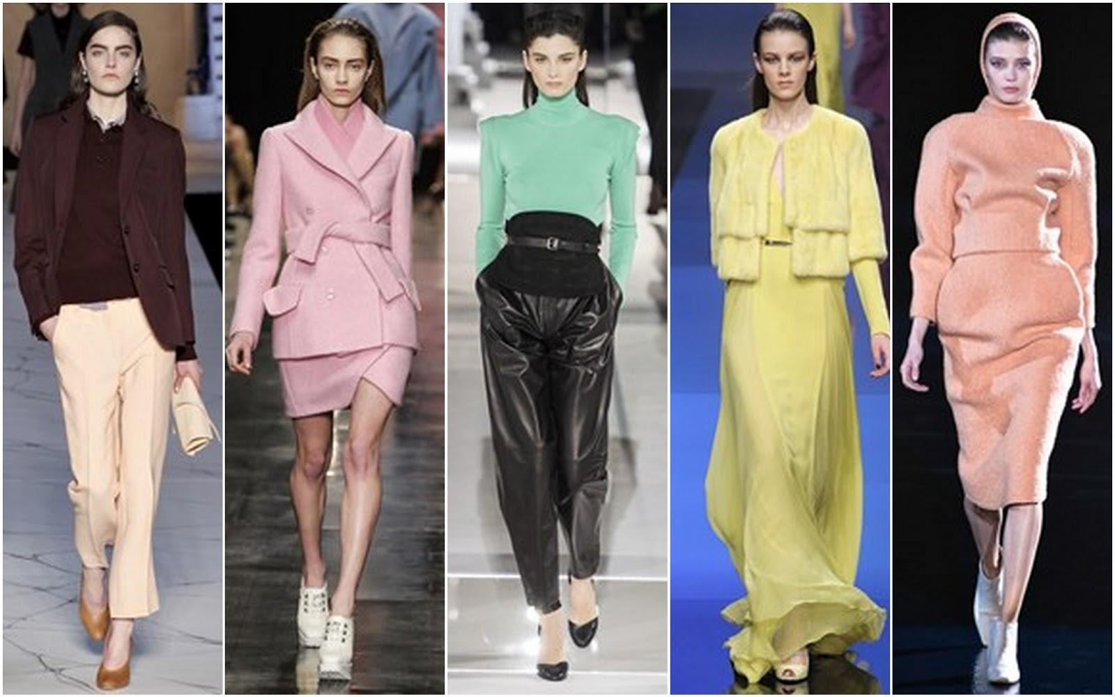 Beautifully Fierce!: Paris Fashion Week Fall 2013-14 Color