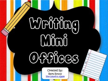 http://www.teacherspayteachers.com/Product/Writing-Mini-Offices-216694
