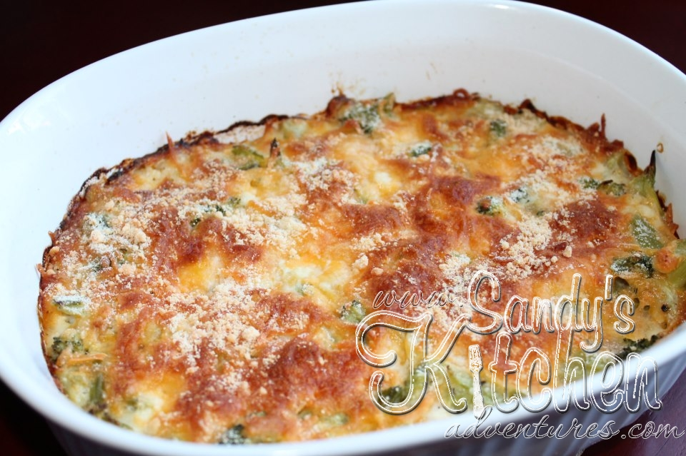 Broccoli Cheese Casserole | Sandy's Kitchen