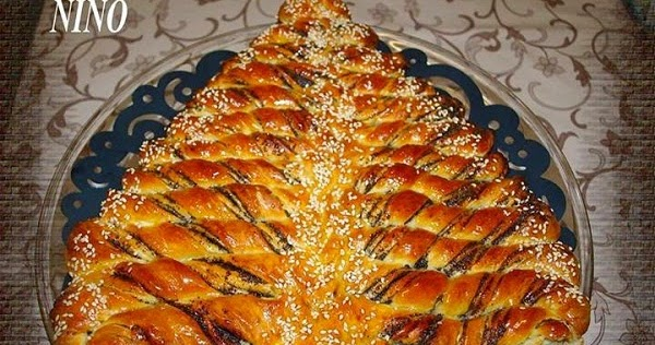 Braided Nutella Christmas Tree Bread Recipe Handy Diy