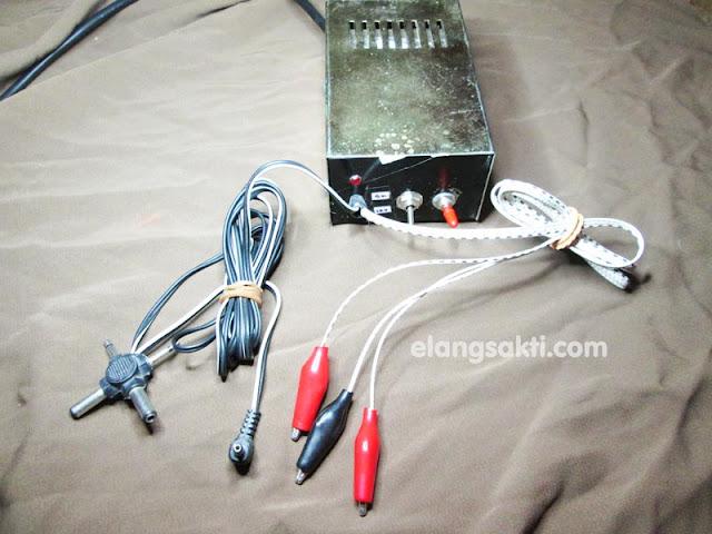 Rangkaian Power Supply 12V & 5V Simetris