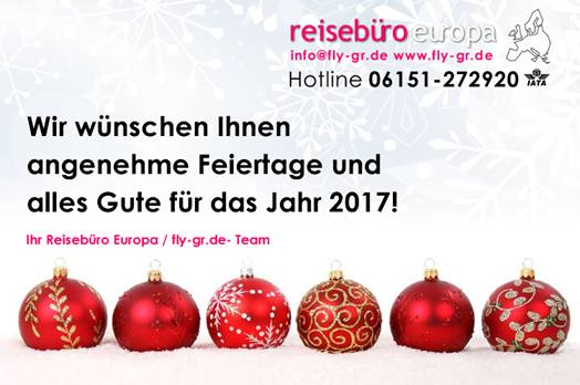 """reiseburo europe"" best wishes"