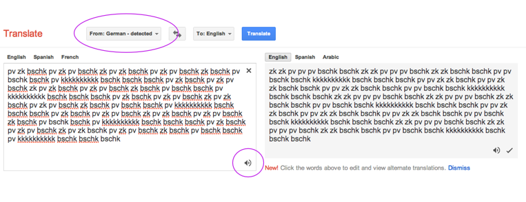 how to make google translate songs