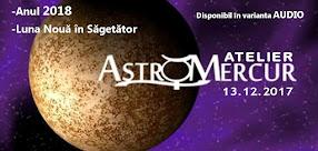 Atelierul Astro Mercur - disponibil si in varianta audio