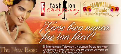 premio viaje playa del carmen promocion Fashion Emergency by the new basic hawaiian tropic e online Mexico 2011