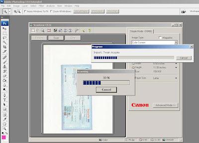 beli scanner CanoScan D646u ex