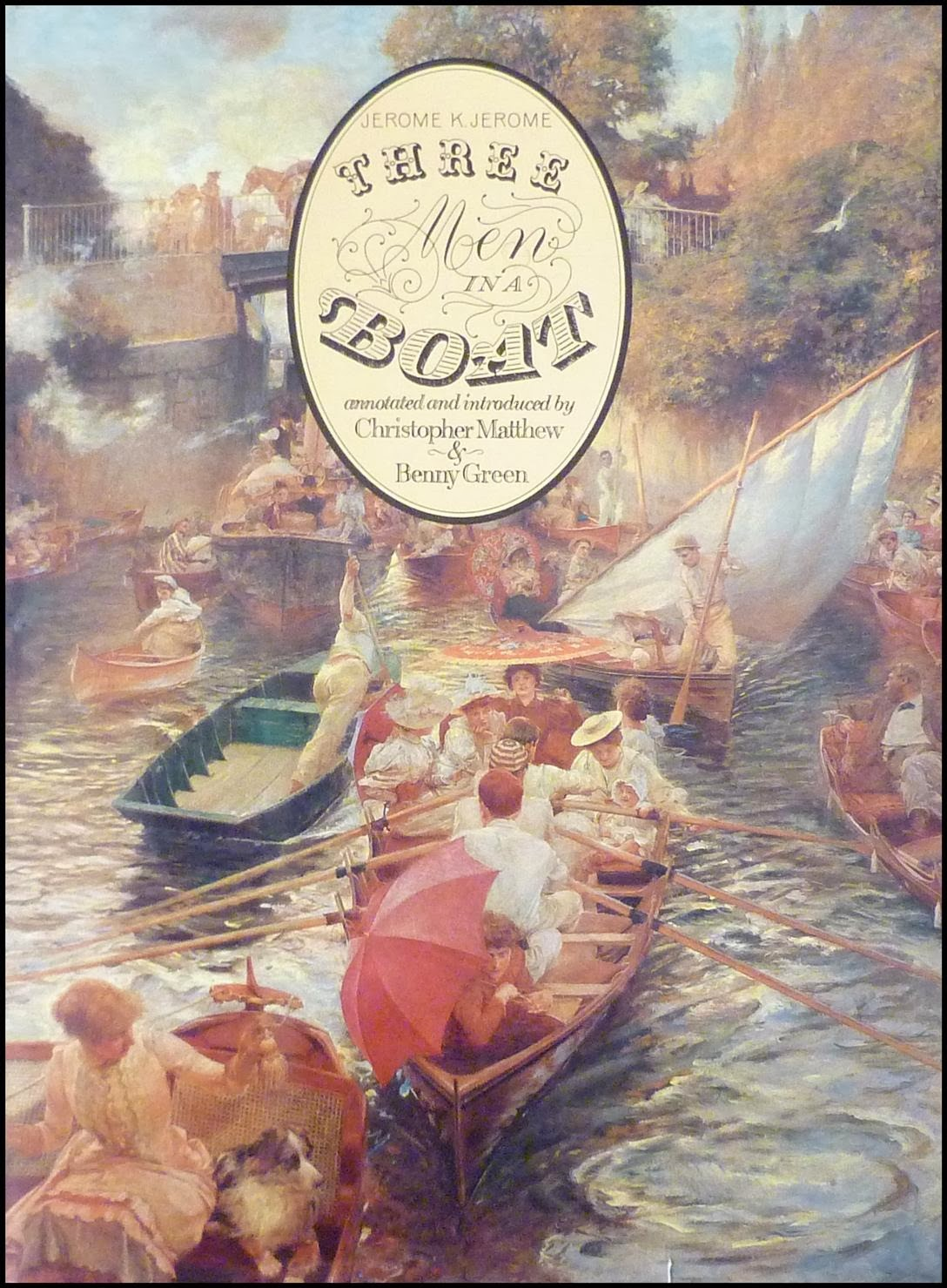 three men in boat book review The story begins with the narrator (j), harris, and george discussing how  unhealthy they have been feeling lately the reader quickly figures out that j,  and.