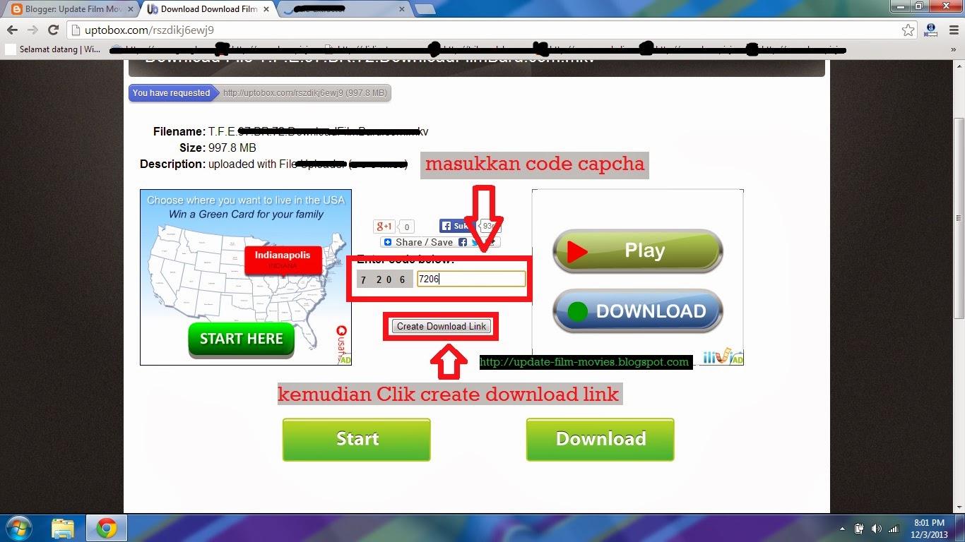 Panduan Dan Cara Download Di Uptobox
