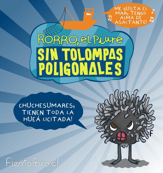 Un piure sin pantalones critica la licitación del mar en Chile. Y dice: «Chuchesumares, tienen toda la hueá licitada.»