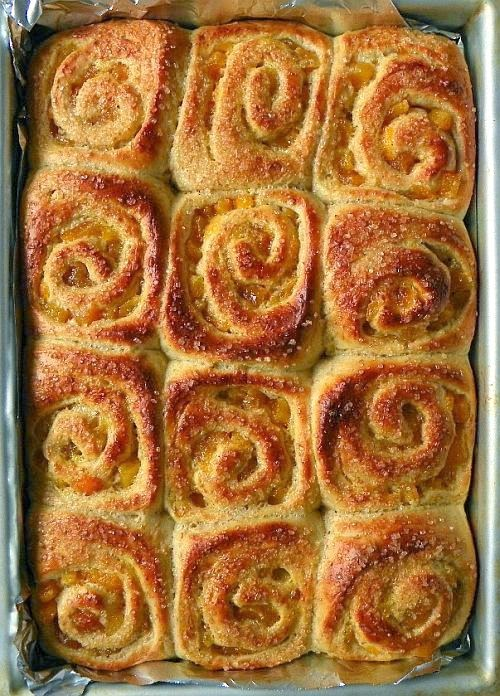 baked buns