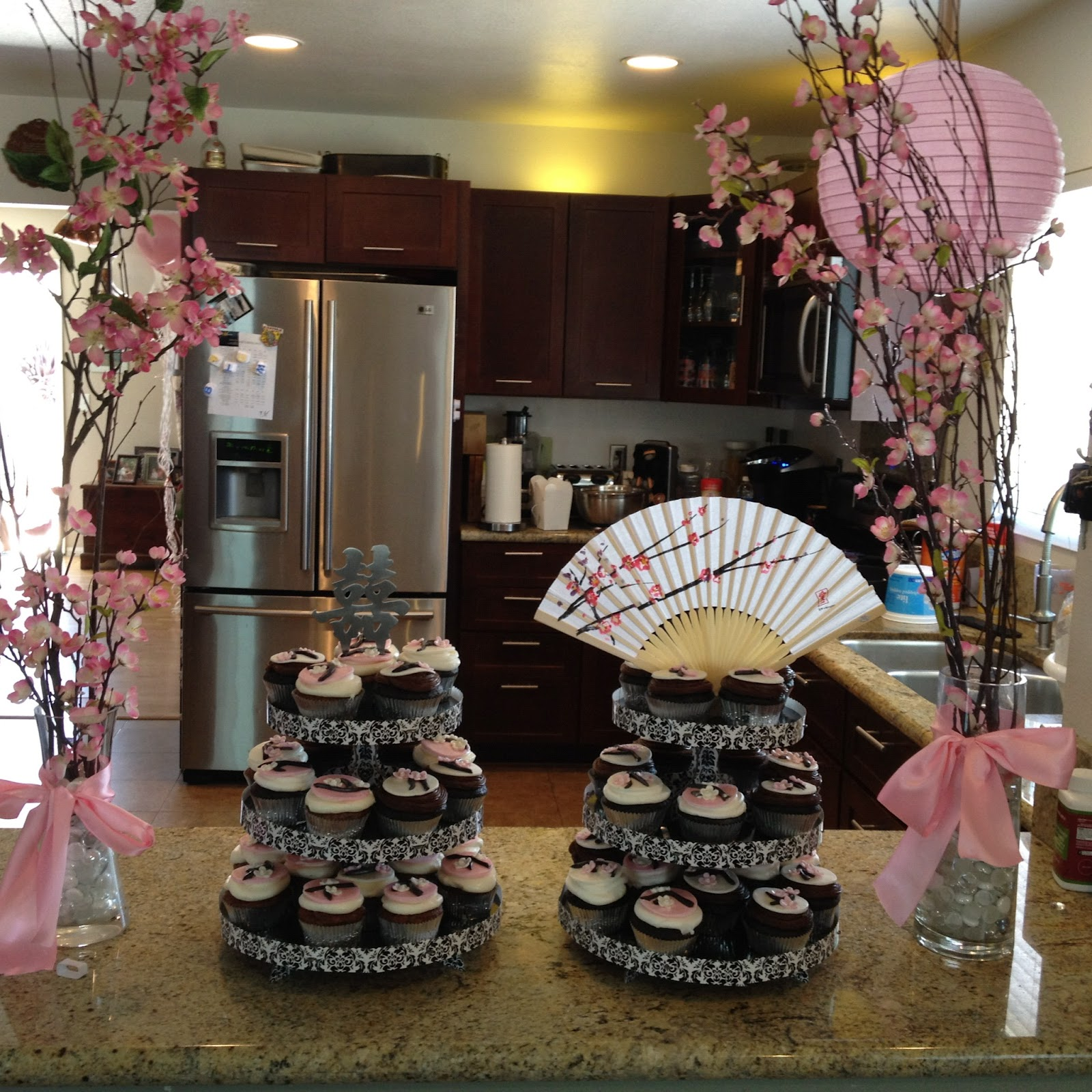 Cakes By Jake Japanese Cherry Blossom Themed Baby Shower Grad Party