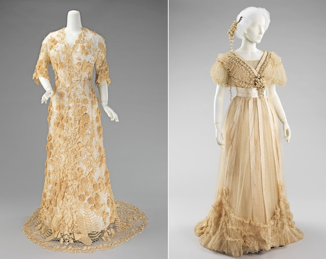 1800s wedding dresses formal wedding gown circa 1910