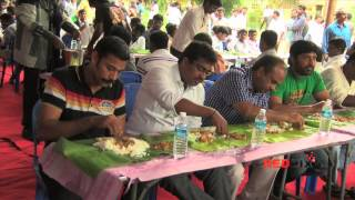 Director Seeman Wedding- Chettinad Feast [kari virundhu]