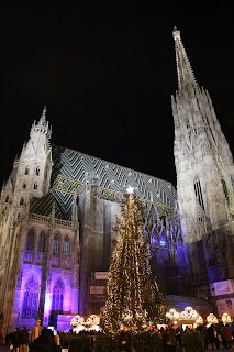 European Christmas Markets river cruise, St. Stephen's Cathedral, Vienna. Photograph by Janie Robinson, Travel Writer