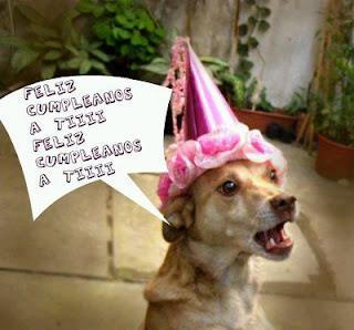 Tarjetas de Cumpleaños con Animales, parte 2