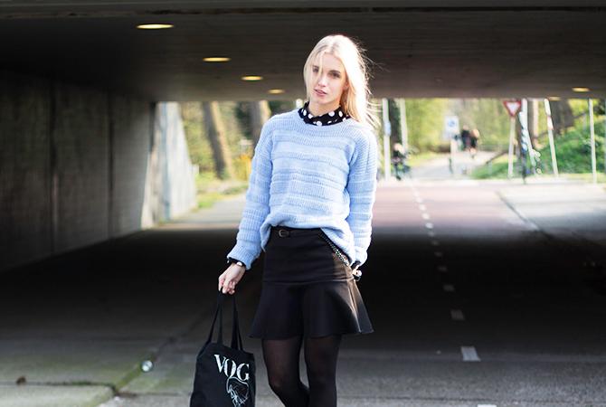 Fashion Attacks ootd past blue