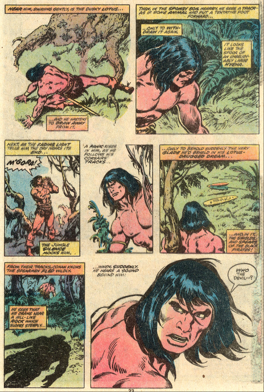 Conan the Barbarian (1970) Issue #100 #112 - English 18