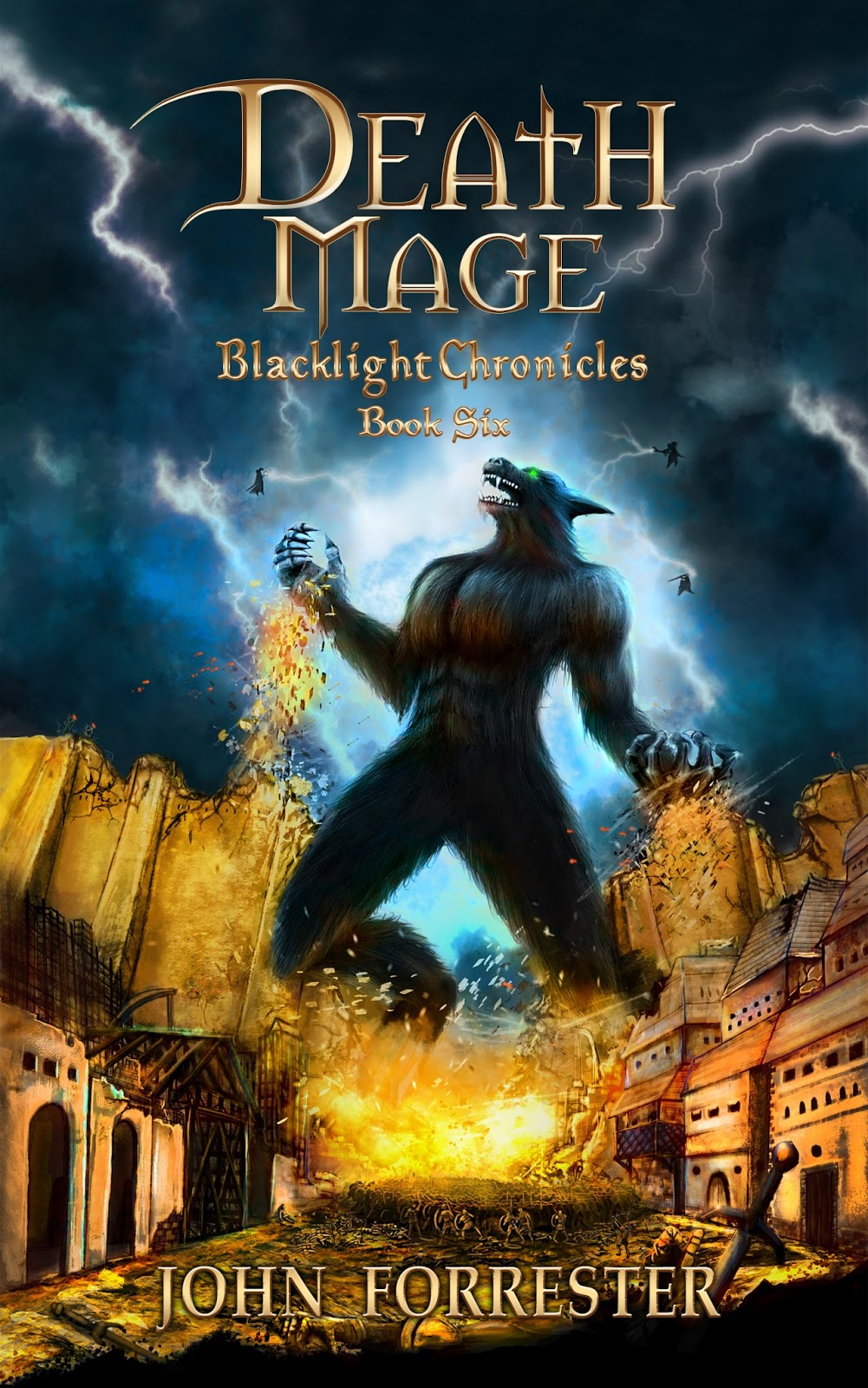 Death Mage, Blacklight Chronicles Book 6