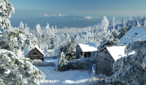 Foothills Of The Great Smoky Mountains The Mount Leconte