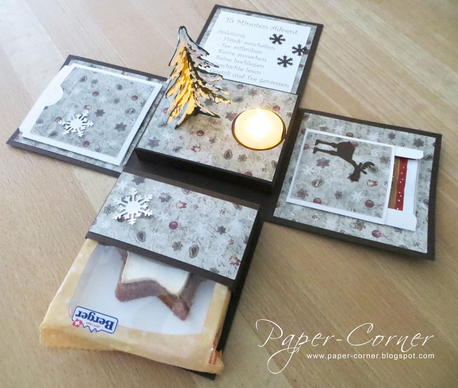 paper corner 15 minuten advent. Black Bedroom Furniture Sets. Home Design Ideas