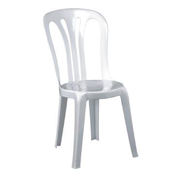 Maquinas industria silla de plastico para jardin color blanco - Sillas de jardin de plastico ...