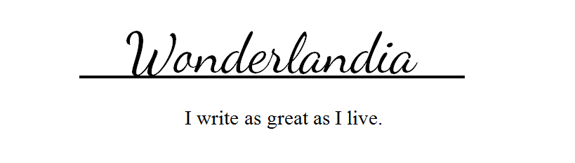 Wonderlandia