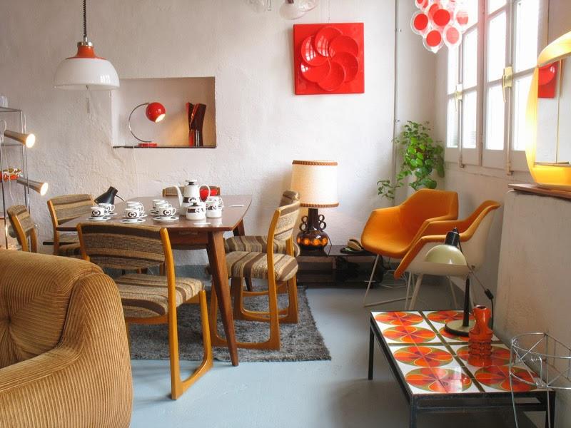 Decoraci n a os 50 decoraci n patri blanco for Muebles de cocina anos 80