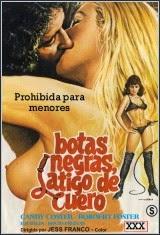 Botas negras – Látigo de cuero Español
