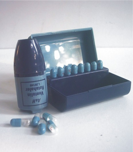 Hardluck Asthma: 1940-2012: The dry powdered inhaler (DPI