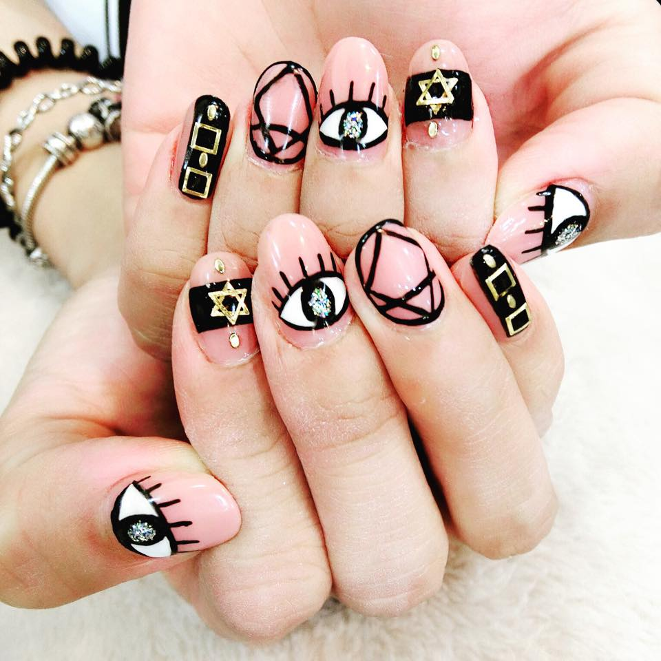Nail Art Designs Korean About Korean Nails On Nail Art Neutral