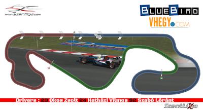 Szentliga, Formula-1 Szentliga, BlueBird Racing, szimulátorsport, F1, Spanyol Nagydíj, Circuit de Catalunya