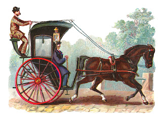horse image buggy vintage