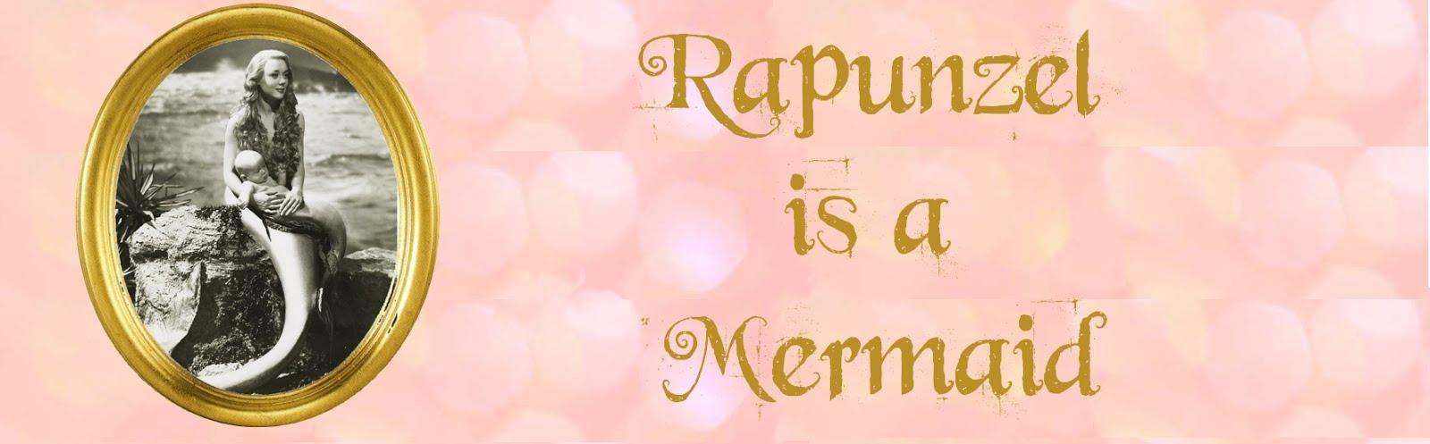 rapünzel is a mermaid