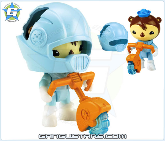 the Octonauts オクトノーツ Shellington's Ice Saw Fisher-Price toys シェリントン