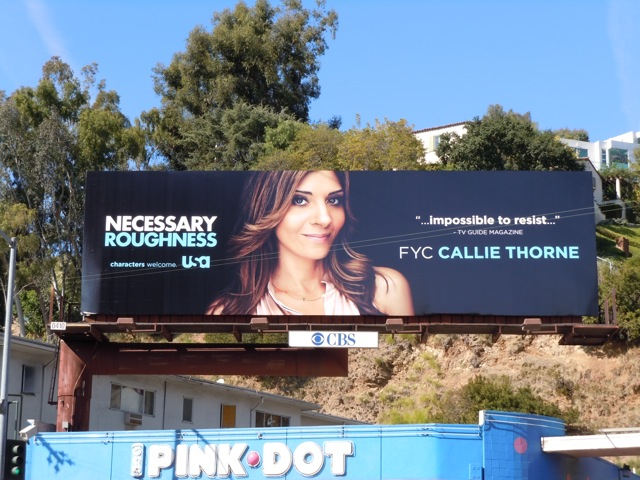 Necessary Roughness Emmy Consideration billboard