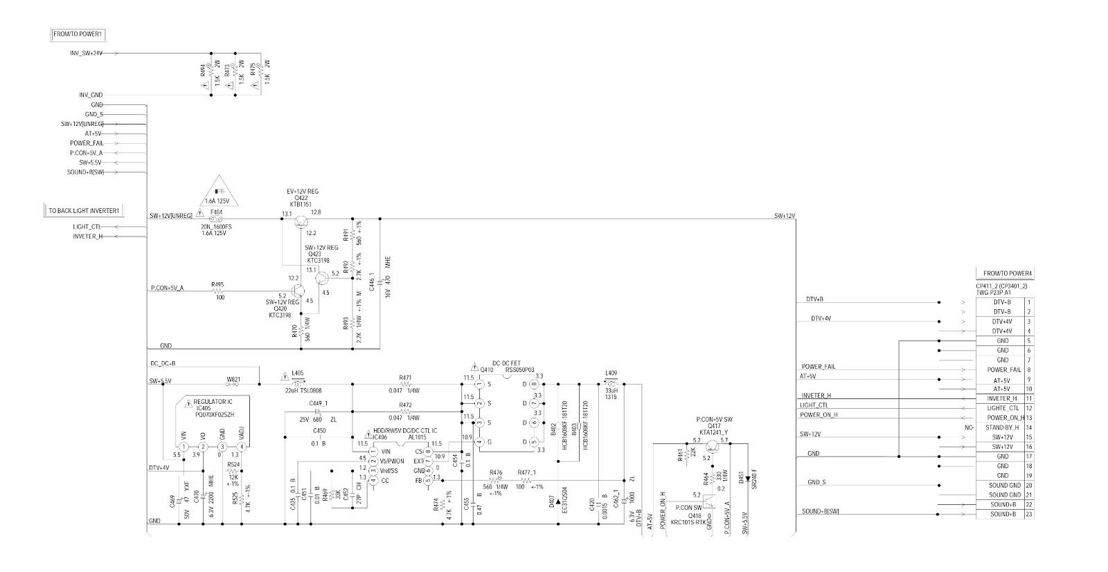 Wiring Diagram Inverter Toshiba : Toshiba tv circuit schematics flat screen
